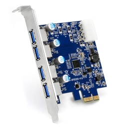 Scheda PCIe 4 Porte USB 3.0